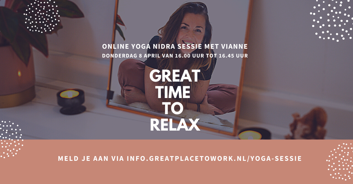 Great Time To Relax - Great Place To Work Yoga Nidra sessie